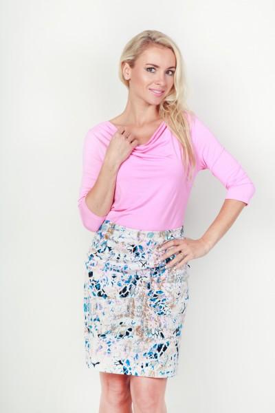 Fotografie Pouzdrová sukně mramor