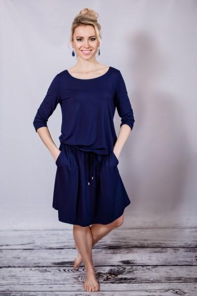 Fotografie Krátké šaty s kapsami