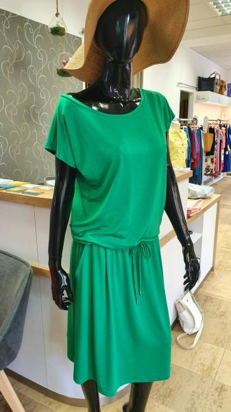 Fotografie Šaty s kapsami krátké zelené